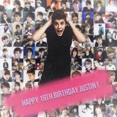 HAPPY BIRTHDAY KIDRAUHL Happy 19th Birthday, I Love Him, Justin Bieber, Music, Life, Accessories, Musica, Love Him, Musik