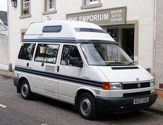 campervan   Motorhome, RV and Campervan Photos - 1997 Auto-sleeper VW Trident