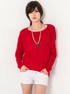 Brief High-low Knit Sweater $19.99