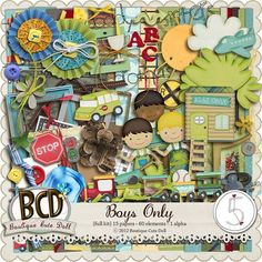 Boys Only ~ Boutique Cute Doll ~ Available @ After 5 Designs