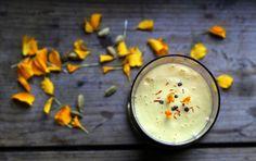 Smooth mango lassi Recipe and photo by Sari Mattsson