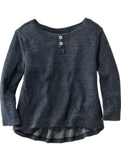Hi-Lo Henley Top Product Image