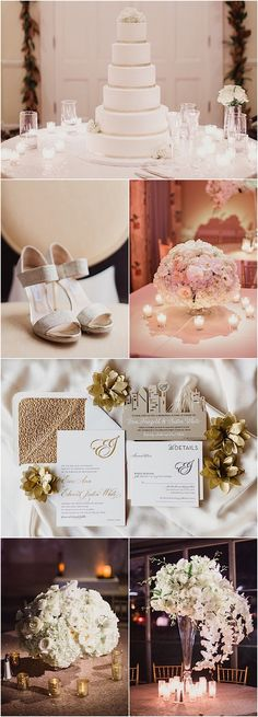 White and Gold Dallas Wedding; featured photographer: Shaun Menary Photography