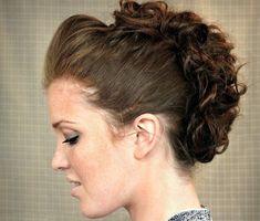 Como Fazer Penteados Moicano Feminino