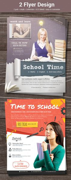 2 Sketch School Flyer  - Corporate Flyers