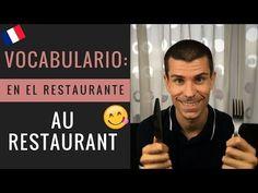 Frases en francés en el restaurante: AU RESTAURANT | Clase de francés con Pariseando - YouTube