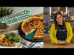 Spenótos-sonkás-pesztós quiche 😋 - YouTube Quiche, Street, Kitchen, Youtube, Cooking, Kitchens, Quiches, Cuisine, Walkway