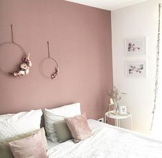 26 dusty pink bedroom walls you will love it 10 – Home Dekor Dusty Pink Bedroom, Pink Bedroom Walls, Pink Bedroom Decor, Bedroom Wall Colors, Bedroom Color Schemes, Pink Room, Pink Walls, Ikea Bedroom, Pink Master Bedroom