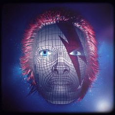 New party member! Tags: trippy david bowie bowie ziggy stardust changes life on mars aladdin sane