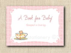 """Baby & Children Bookplates or Personalized by GigiMarieStationery, $12.00 """"steeped in love"""""""