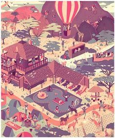 Latest Art by Muti - http://designyoutrust.com/2014/10/latest-art-by-muti/