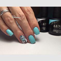 Glam Nails, Beauty Nails, Short Nail Designs, Nail Art Designs, Love Nails, My Nails, Country Nails, Mandala Nails, Square Nails