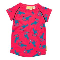 Boys&Girls Toucan Cap Sleeve Top