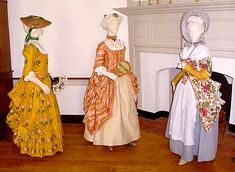 From Head to Toe: A look at 18th Century Fashions