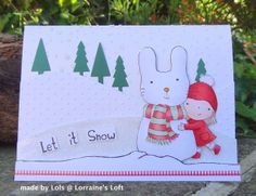 Created by Lols for the Simon Says Stamp Wednesday Challenge (Let it Snow) December 2013