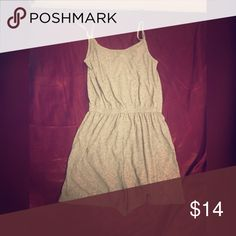 H&M grey scoop round neck romper XS ***price is firm. I am selling these clothes for a really cheap low price already compared to retail. No discounts unless you purchase more than 1 item. I offer 20% off bundles if you buy 2 items+ so a $10 item would only be $8** I also sell on Ⓜ️. Dresses