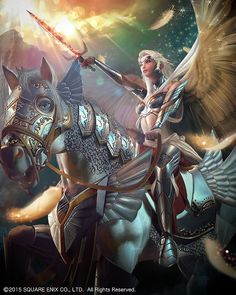 Brynhildr from Mobius Final Fantasy