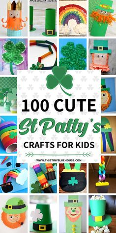 Help your kids get excited about St Patty's day with these adorable and creative St Patrick's Day Crafts For Kids. With 100 crafts to choose from you're guaranteed to have hours and hours of crafting fun.