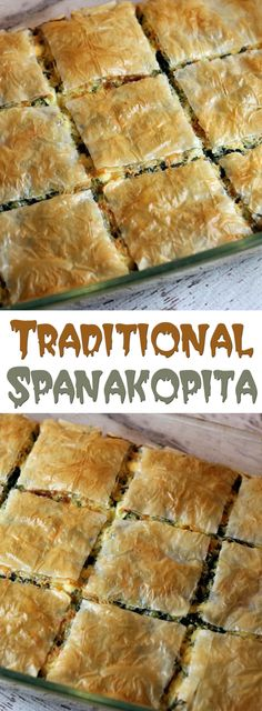 Traditional Spanakopita. #CompleteRecipes #recipe #recipes #food #foodgasm #cleaneating #healthyfood #healthy #healthyrecipes  #spanakopita