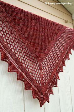 "Aestlight Shawl, Knit for Camp Loopy Ewe 2012. Madelinetosh Merino Light yarn in ""Amber Trinket"" Colorway"