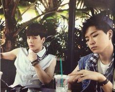 "Jackson and Youngjae- Got7 1st Photobook ""Gotcha"""