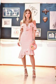 Pink dress combine: what shoes to match pink dress - Mode - Fashion - Elegant Dresses, Cute Dresses, Casual Dresses, Short Dresses, Summer Dresses, Kohls Dresses, Dresses Dresses, The Dress, Pink Dress