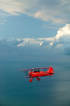 Fly over a tiny part of the atlantic ocean in a Biplane. Definately the most important one on my list. And the best would be, that i'd fly by myself ;-)
