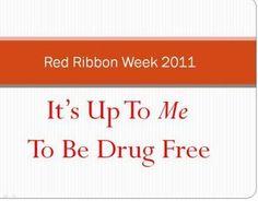 Red Ribbon Week Door Decoration 2011 - $2