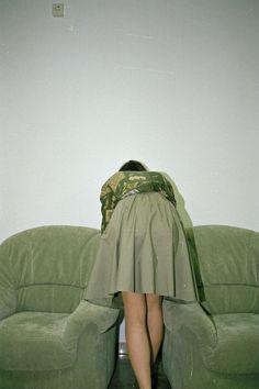 Nice sofa-based work by Jasmine Deporta on It's Nice That