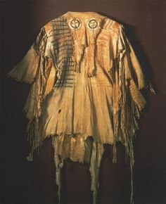Great Plains Indian (Blackfoot), Mans Leather Shirt