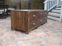 Afbeeldingsresultaat voor restored wood dressoir