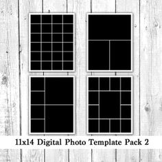 X Photo Template Pack Collage Storyboard By Loveurstyledesigns