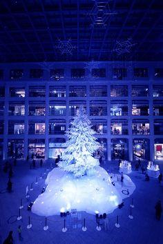 キッテ クリスマスツリー kitte_Xmas_tree (4)