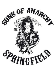 6b7a9062af Camiseta Sons of Anarchy Springfield - Mitou Camisetas