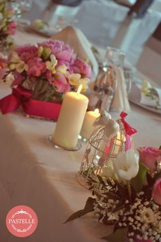 fresh, pink peonies, natural decor  Event planning & decorations. Contact: ilinca@pastelle.ro https://www.facebook.com/PastelleEvents