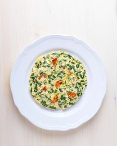 This is a delicious, low calorie, Cherry tomato frittata!  Eat great while losing weight with Amino Diet!