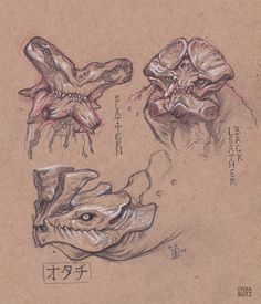 Kaiju Sketches - Pacific Rim by Girl-on-the-Moon.deviantart.com on @deviantART
