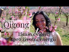 Qigong (čchikung) - 15 min cvičení pro životní energii - YouTube Qigong, Youtube, Youtubers, Youtube Movies