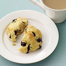 Blueberry Breakfast Tops...a cross between a scone and a muffin top. Just gimme this and some black tea. YUM!