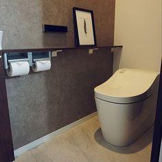 Bathroom Toilets, Bathrooms, Toilet Design, Grey And Beige, Restaurant, Interior Design Kitchen, Diy Art, Easy Diy, Sink