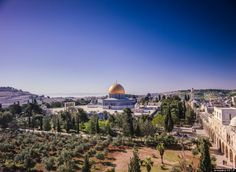 """Dome of the Rock and Temple Mount, Jerusalem. From """"Jerusalem"""" (IMAX film)"""