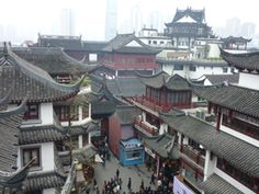 """""""in Shanghai's Old Town, the elegance of traditional Chinese philosophy is manifested in the built environment and stands in stark contrast to a hypermodern skyline"""" Shanghai, by Stephen Grace. Sentient Publications. www.sentientpublications.com"""
