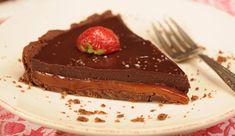 Tarta de Caramelo Salado y Chocolate