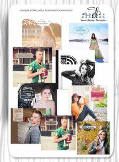 Photoshop Graduation Overlays for Senior Templates