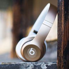 Beats by Dre Gold Solo2 Wireless Headphones #Gold, #Headphones, #Wireless