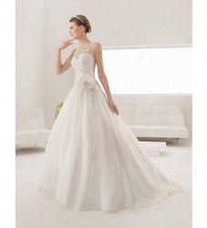 Vestido de novia modelo Pilar de Alma Novia | colección 2015