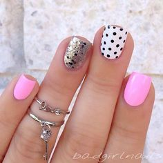 awesome 55 Super Easy Nail Designs | StayGlam