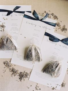 Lavender. Wedding favors