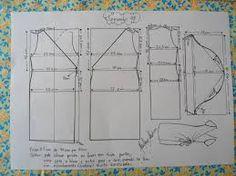 Resultado de imagem para molde de vestido tubinho