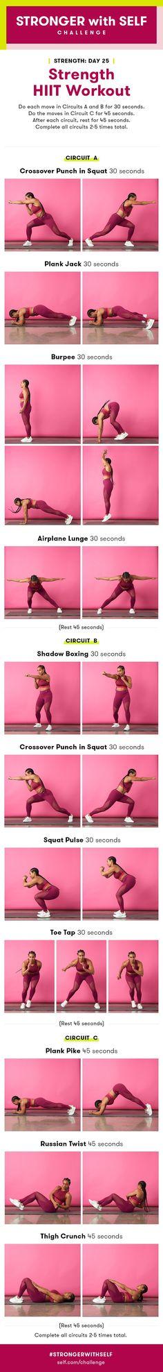 Strength HIIT Workout